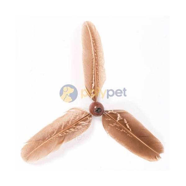 GoCat Da Purr Peller Feather Wand Refill • Pets West • Pet